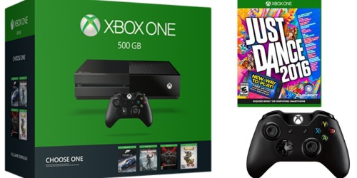 Xbox One 500GB Console, 2 Games AND 2 Controllers ONLY $249 Shipped