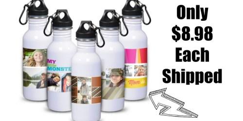 York Photo: Custom Stainless Steel Water Bottle Only $8.98 Each Shipped