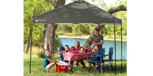 Walmart: Ozark Trail 10×10 Canopy w/ 4 Mesh Chairs Only $74 Shipped (Reg. $116.96)