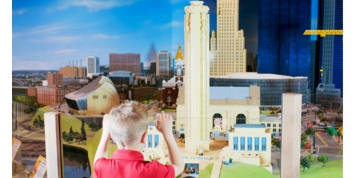 Groupon: Up to 40% Off LEGOLAND Discovery Centers (As Low As $14 Per Ticket)