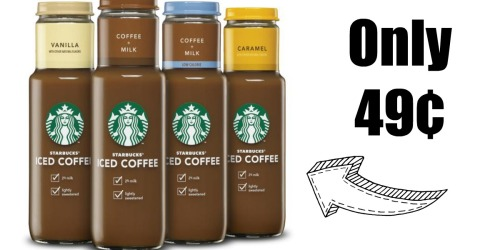 New $1 Starbucks Iced Coffee Ibotta Cash Back Offer = Only 49¢ at Target