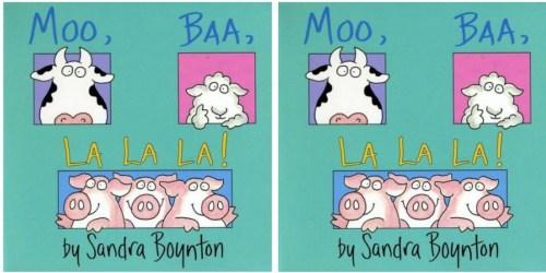 Amazon: Moo, Baa, La La La Board Book ONLY $2.75 (Love this Book)