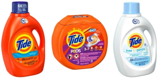 Target.com: Tide Laundry Detergent 100oz ONLY $7.11 Each Shipped (After Gift Card)