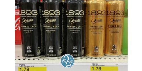 Target: Nice Savings on Pepsi 1893 Sodas + Market Pantry & Simply Balanced Drink Mixes