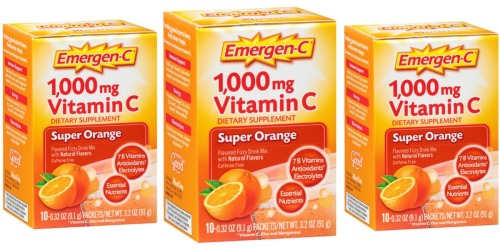 Target: Emergen-C Drink Mix 10ct Only 9¢ Each (After Gift Card)