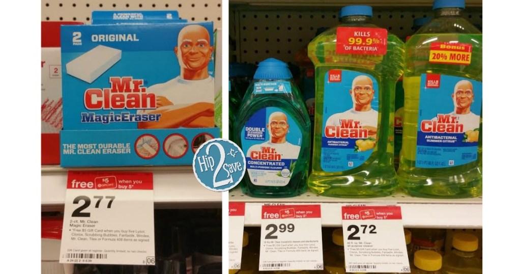Mr. Clean Target