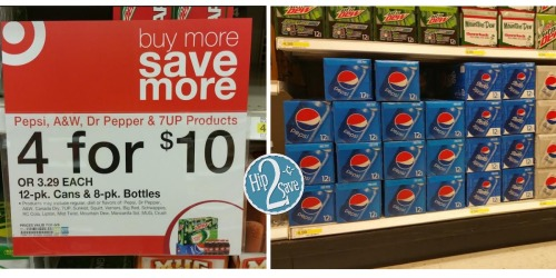Print This Rare Pepsi Coupon AGAIN and Score Pepsi 12-Packs for Only $2 Each at Target!