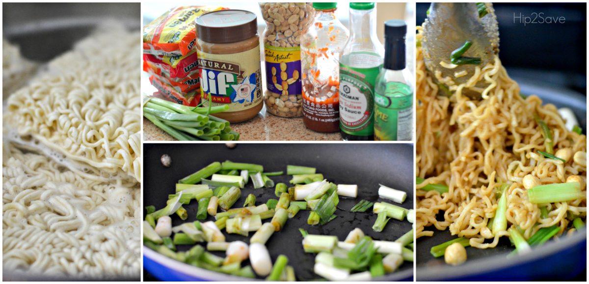 Upgrade Ramen Noodles with Peanut Butter