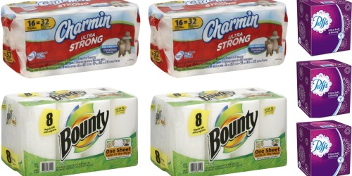Walgreens: Stock up on Charmin Toilet Paper, Bounty Paper Towels & More Starting Sunday