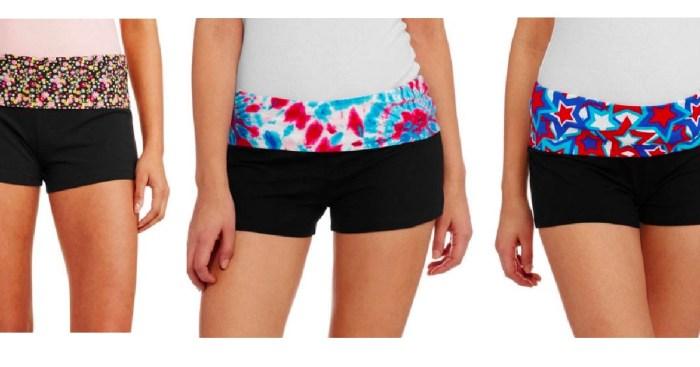 558f34de2f862 Walmart.com: Juniors No Boundaries Yoga Shorts ONLY $2.50 Shipped - Hip2Save
