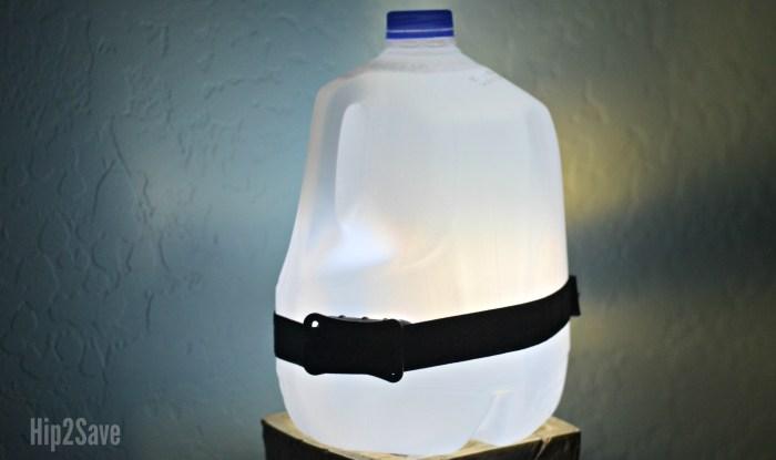 Water Jug Camping Lantern