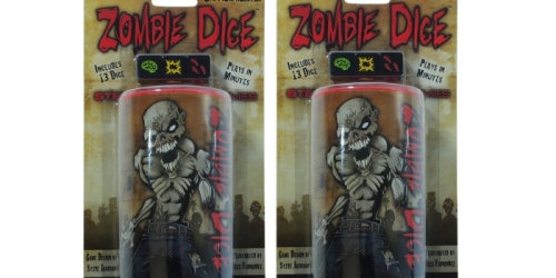 Amazon: Zombi Dice Game Only $4.01 (Reg. $13.99) – Ships w/ $25 Order