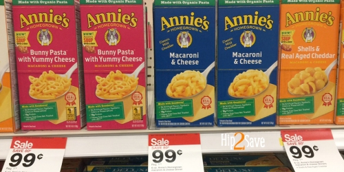 Print 3 New Annie's Organic Coupons! Only 49¢ Per Box of Mac & Cheese at Target