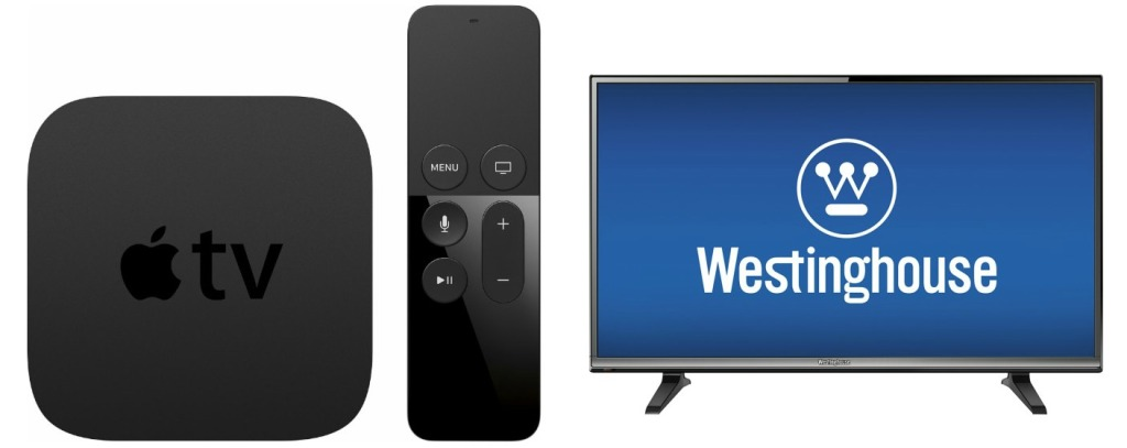apple tv and Westinghouse