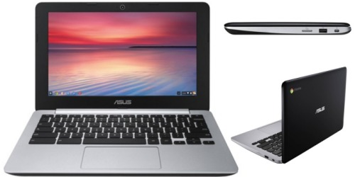 Woot!: ASUS Chromebooks as Low as $119.99 (Factory Refurbished)