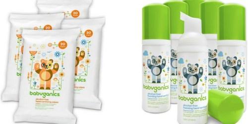 Amazon: Nice Deals on BabyGanics Sanitizing Wipes & Hand Sanitizer