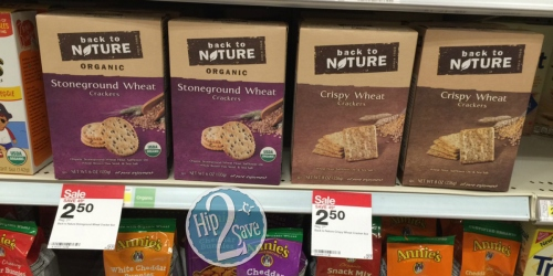 Target: Back to Nature Crackers Only $1.25 Each (After Ibotta) + More