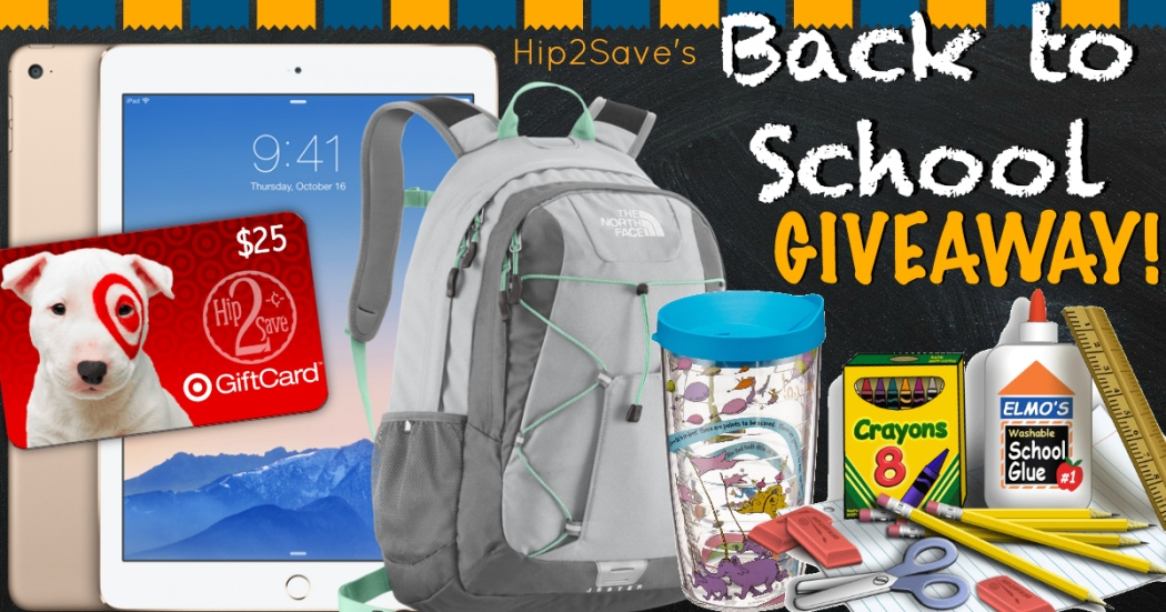 Back to School Giveaway Hip2Save