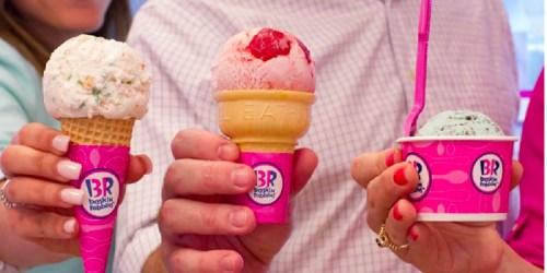 Baskin-Robbins: FREE Scoop of Ice Cream (Just Download Free Mobile App)