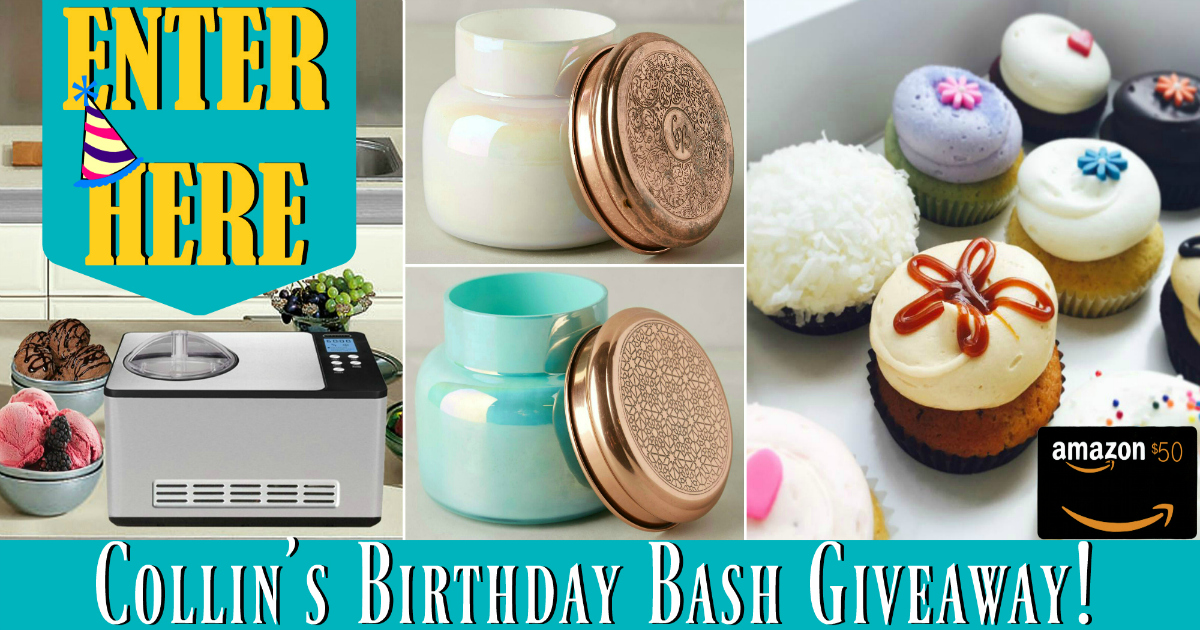 B-day Bash Giveaway