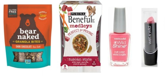 Bear Naked, Purina and Wet n Wild