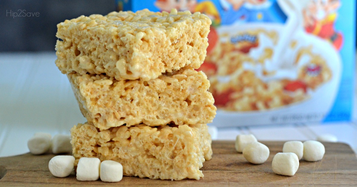 Best Ever Rice Krispies Treast Hip2Save.com