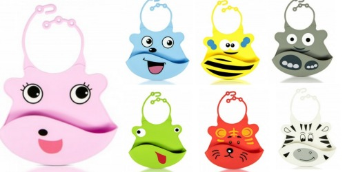 Flirty Aprons: Extra 30% Off + FREE Shipping = Silicone Baby Bibs Only $5.59 Shipped
