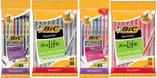 Target.com: 21 BIC Products AND 10 Other School Supplies ONLY $20.69 (After Gift Cards)