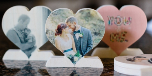 FREE Custom Wooden Photo Heart ($30 Value) – Just Pay $9.99 Shipping