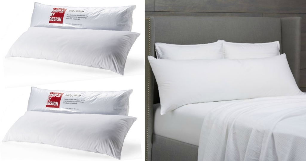 Kohl S Cardholders Simple By Design Body Pillow Just 5 59 Shipped Regularly 19 99