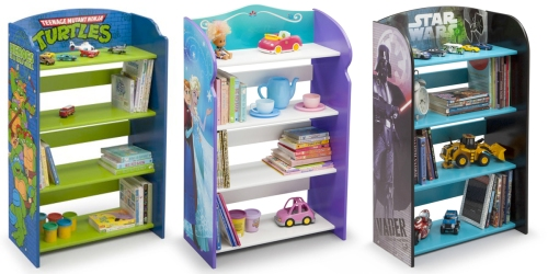 Walmart.com: Delta Children's Bookshelves Only $35 (Regularly $69.98) – Star Wars, Frozen & More