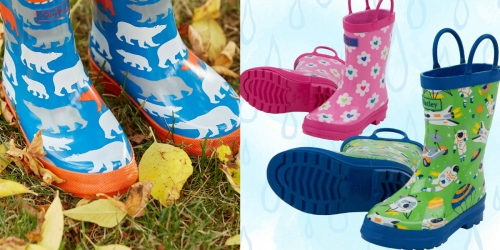 6PM.com: 60% Off Hatley Kids Rainboots & Free Shipping – Starting at Just $14.39 Shipped (Reg. $36)