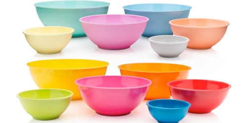 Amazon: Francois et Mimi 6 Piece Colorful Mixing Bowls Set Only $11.95 (Regularly $18.95)