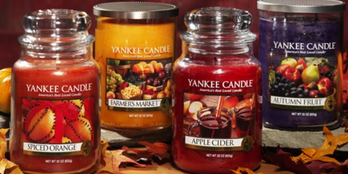 Yankee Candle: Buy 2 Get 2 Free Candles Coupon (Valid Both In-Store or Online)