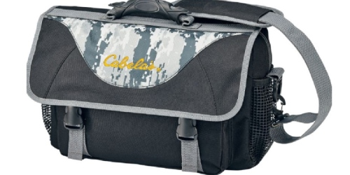 Cabela's Tackle Satchel ONLY $7.88 (Reg. $29.99)