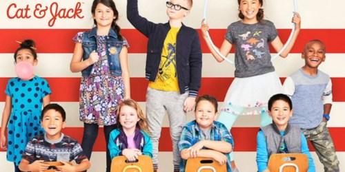 Target: Stock Up On Cat & Jack School Uniforms