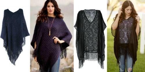 Cents of Style: Knitted Poncho AND Bracelet UNDER $12 Shipped + More
