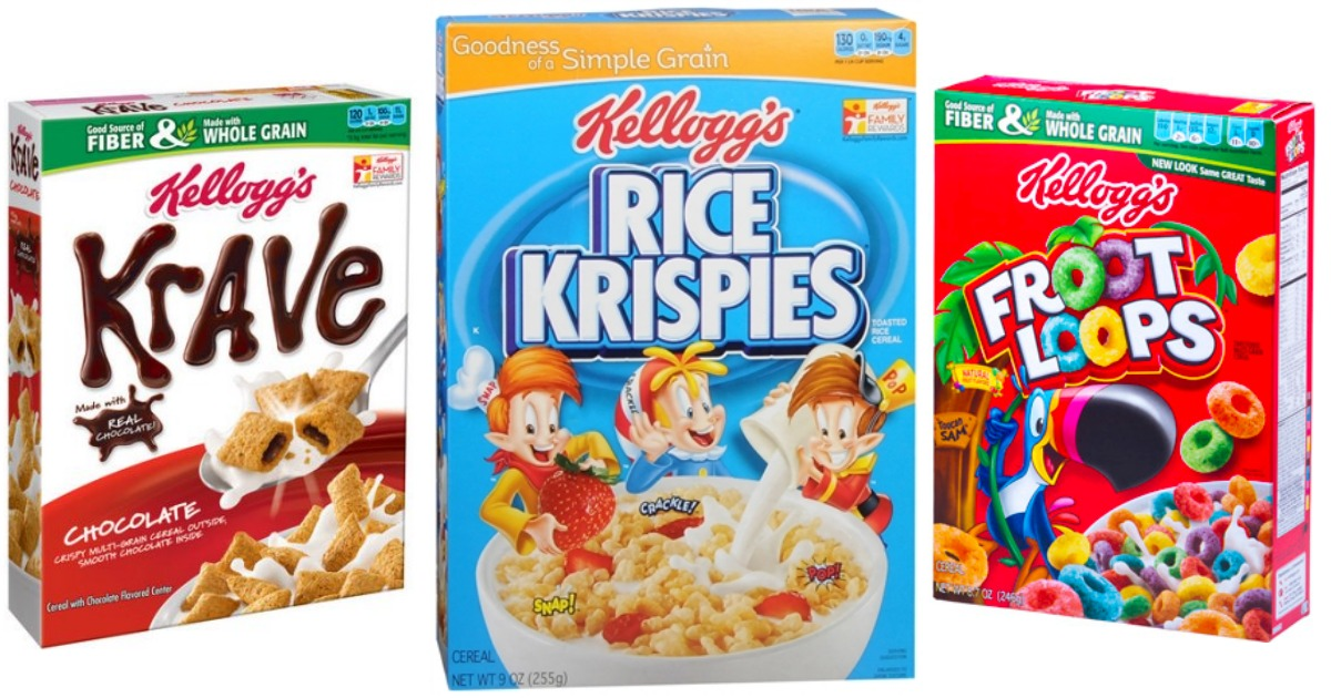 image relating to Printable Cereal Coupons called 3 Refreshing Kelloggs Cereal Printable Coupon codes + CVS Bundle Principle