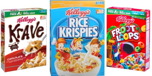 3 New Kellogg's Cereal Printable Coupons + CVS Deal Idea