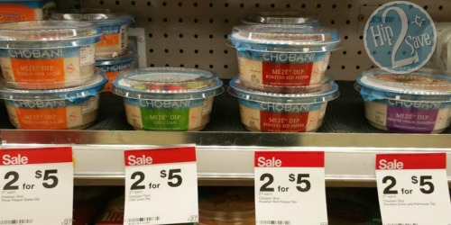 Target: Chobani Meze Dips Only 50¢ (After Ibotta Cash Back)