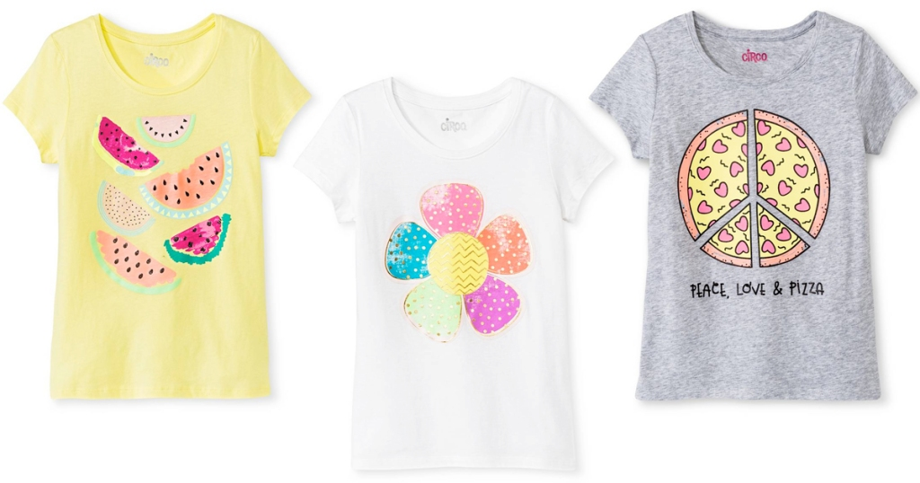 c6d8cd055d17c Hop on over to Target.com where they are offering up select Girls' Circo  Tees for just $3 (regularly $6). PLUS when you enter promo code EXTRA20 at  checkout ...