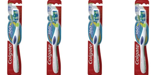 Walgreens: Colgate 360° Toothbrushes Only 25¢ Each (After Register Reward)