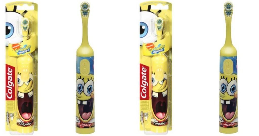 Colgate Kids Sponge Bob Electric Toothbrush