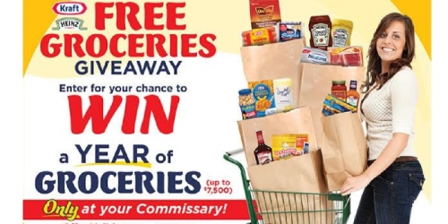 Military: August Commissary Savings (+ Enter to Win Year of Groceries – $7,500 Value)