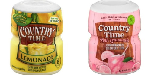 Target: Country Time Lemonade Drink Mix Only $1.05 (Regularly $2.64)