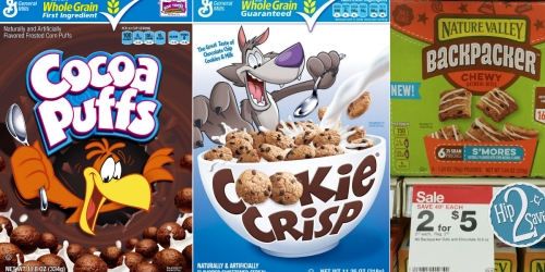 New $0.75/1 Cocoa Puffs, Cookie Crisp or Trix Cereal Coupon = Only $1.22 Per Box at CVS + More