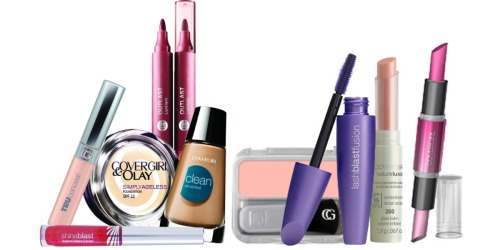 Lots of New CoverGirl Coupons = Better Than Free Cosmetics at the Drugstores (Starting 10/2)