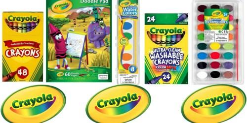 NEW Crayola Target Cartwheel Offers + Deal Ideas