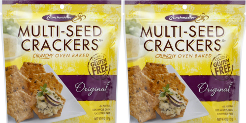 Walgreens: Crunchmaster Crackers 25¢ Per Bag After Cash Back (Starting 8/28)