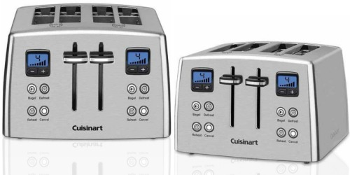 Amazon: Cuisinart 4-Slice Stainless Steel Toaster Only $49.99 Shipped (Regularly $77.99)